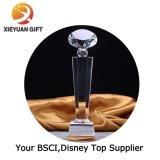 中国の工場スポーツのためのカスタム水晶金属のトロフィ