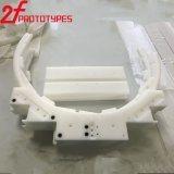 Il CNC che lavora il CNC alla macchina parte i pezzi meccanici di CNC POM delle parti POM della plastica di precisione POM/PVC delle parti del prototipo di nylon del prototipo in plastica