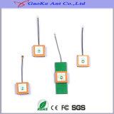 実行中GPSの内部アンテナGPSパッチの内部アンテナ