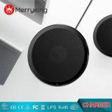 L'aluminium + PC Pliable chargeur sans fil pour iPhone/Samsung Galaxy S7 S8, le Qi du tampon de chargement sans fil standard