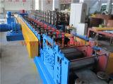 Rodillo perforado galvanizado de la protección de la bandeja de cable del metal que forma haciendo la máquina