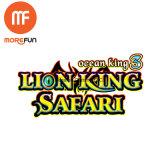 Spiel-Tisch-Maschine des Löwe-König-Safari Gambling Fishing