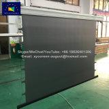 Xyscreen het Donkere Grijze Elektrische Broodje van 140 Duim onderaan het Scherm van de Projector het Bekijken van 160 Graad Hoek