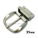 A curvatura de correia reversível do Pin da curvatura da liga do zinco do metal da alta qualidade para o vestido cerca as bolsas das sapatas do vestuário (XWS-ZD422--ZD462)