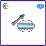 DIN/ANSI/BS/JIS Stainless-Steel galvanisé Carbon-Steel/Vis à tête hexagonale de l'écrou de la vis de combinaison