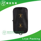 2017 Luxury Custom-Made Toilets-Repellent Canvas Leather Suit Bag Garment Bag Travel Follows Cover Carrier