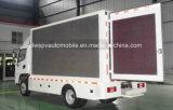 5 T防水LEDスクリーン表示手段4*2の移動式広告のトラック