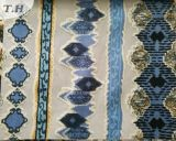 Poliéster da fábrica 100 de matéria têxtil de China da tela de veludo