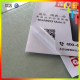 Étiquette de vinyle estampée par miroir de Customed pour annoncer (TJ-VS005)