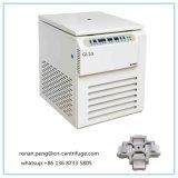 Centrifugadora refrigerada de alta velocidad 6X1000ml del laboratorio de la capacidad grande