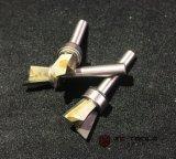 Schwalbenschwanz-Fräser-Bits stellten Karbid-Abschrägung-Prägescherblock CNC-Mittelausschnitt-Enden-Tausendstel ein