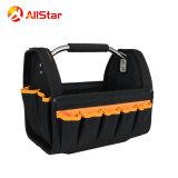 La barra d'acciaio della maniglia lavora il Tote dello strumento della valigia attrezzi del sacchetto dell'imballaggio