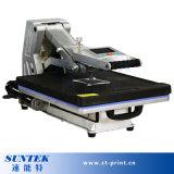 Wärme-Presse-Übergangsdrücken hydraulische Shirt-Übertragung Maschine ein