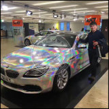 Cintilante Espelho Laser holográfico Rainbow Açúcar pigmento colorido