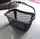 O projeto novo redondo escolhe a cesta de compra plástica bonita do punho