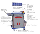 병원과 의학 아BS 다기능 마취 트롤리 Slv-75001b