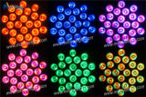 24PCS Rgbwau高いMcd LEDの同価ライト