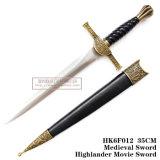 西部の歴史的短剣の騎士短剣のホーム装飾25cm HK6f012