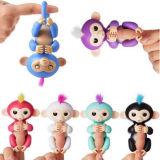 Новинка! Fingerlings Софи Детский Monkey Интерактивная игрушка ПЭТ- белого цвета