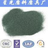 Materiale verde del carburo di silicone degli abrasivi del carborundum di 97%