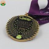 Medaille van het Kampioenschap van de Liga van het Metaal van de douane de Poolse Zilveren Geplateerde