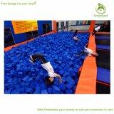Ninjaの障害物コース、トランポリンの跳躍競技場、屋内トランポリン公園