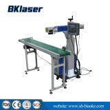 máquina de marcação a laser de CO2 do tipo óptico para as peças de plástico