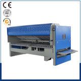 Les feuilles automatiques pliant la machine/dépliant apparie la machine d'Ironer de rouleau avec le certificat de la CE