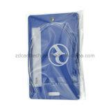 Étiquette faite sur commande en gros de bagage de PVC de plastique de fabrication