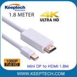 Port Mini Displayport vers HDMI 6 pieds de câble mini DP vers HDMI 1.8m pour Mac Book