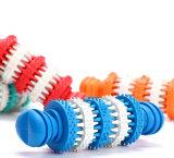 La formation mâchant le festin de nettoyage de dent distribuant le Q.I. joue des billes