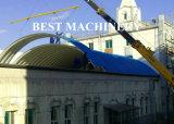 金属の鋼板の極度のスパンのRooingのパネル工法の使用法機械