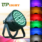 12W* 36 PCS PAR LED puede lavar RGBWA +UV 6en1 Iluminación LED PAR