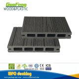 Огнестойкость WPC Композитный пластик древесины ламинатный пол композитный декорированных
