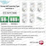 Demark/Itlay intelligenter Stecker-Fernsteuerungsnetzdosen-dänische intelligente Netzdose