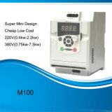 Funcionamiento sencillo Peso ligero motor AC de la Unidad de frecuencia ajustable unidad