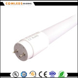 tubo di vetro di 9W 18W 23W T8 LED con una garanzia da 3 anni
