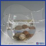 Réservoir de poissons acrylique de qualité de forme de coeur