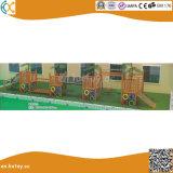 子供のための屋外の木の運動場のCS