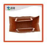 Papel Kraft marrón multiusos una impresión personalizada de paño cuadrado/bolsa de regalo