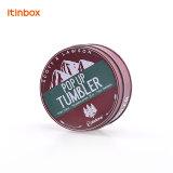 工場食品包装およびキャンデーのための直接小さい円形の錫ボックス