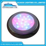 Indicatore luminoso subacqueo fissato al muro del raggruppamento dell'acciaio inossidabile LED di alto potere 316