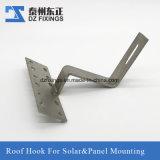 Aço inoxidável304 Gancho do telhado para montagem de painéis solares