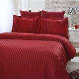 100% algodón COLOR 300TC Edredón fundas de almohada hoja apuesta plana