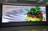 屋内スクリーンの高い明るさP10はLED表示の広告を防水する