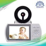3.5 '' video visivo senza fili del bambino dell'affissione a cristalli liquidi 2.4GHz Digitahi video con l'audio citofono bidirezionale