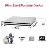 Giocatore del bruciatore dell'azionamento CD di External DVD del USB per Laptop/PC/Mac (argento)