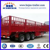 China-Hochleistungs55 Tonnen konkurrieren Zaun des Preis-3axle/Stange-LKW-Traktor-halb Schlussteil