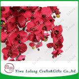 In het groot Kunstbloemen 10 de Orchidee van de Vlinder van de Zijde van Hoofden