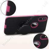 Kickstand emergente modelo personalizado para el caso del teléfono iPhone x